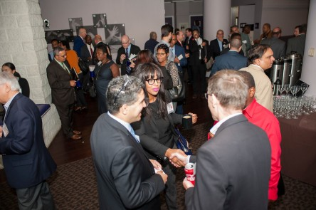 Networking at the 2017 DDOT DBE Summit